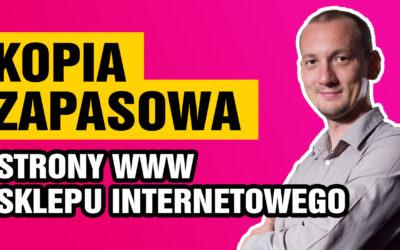 Kopia zapasowa strony www isklepu internetowego
