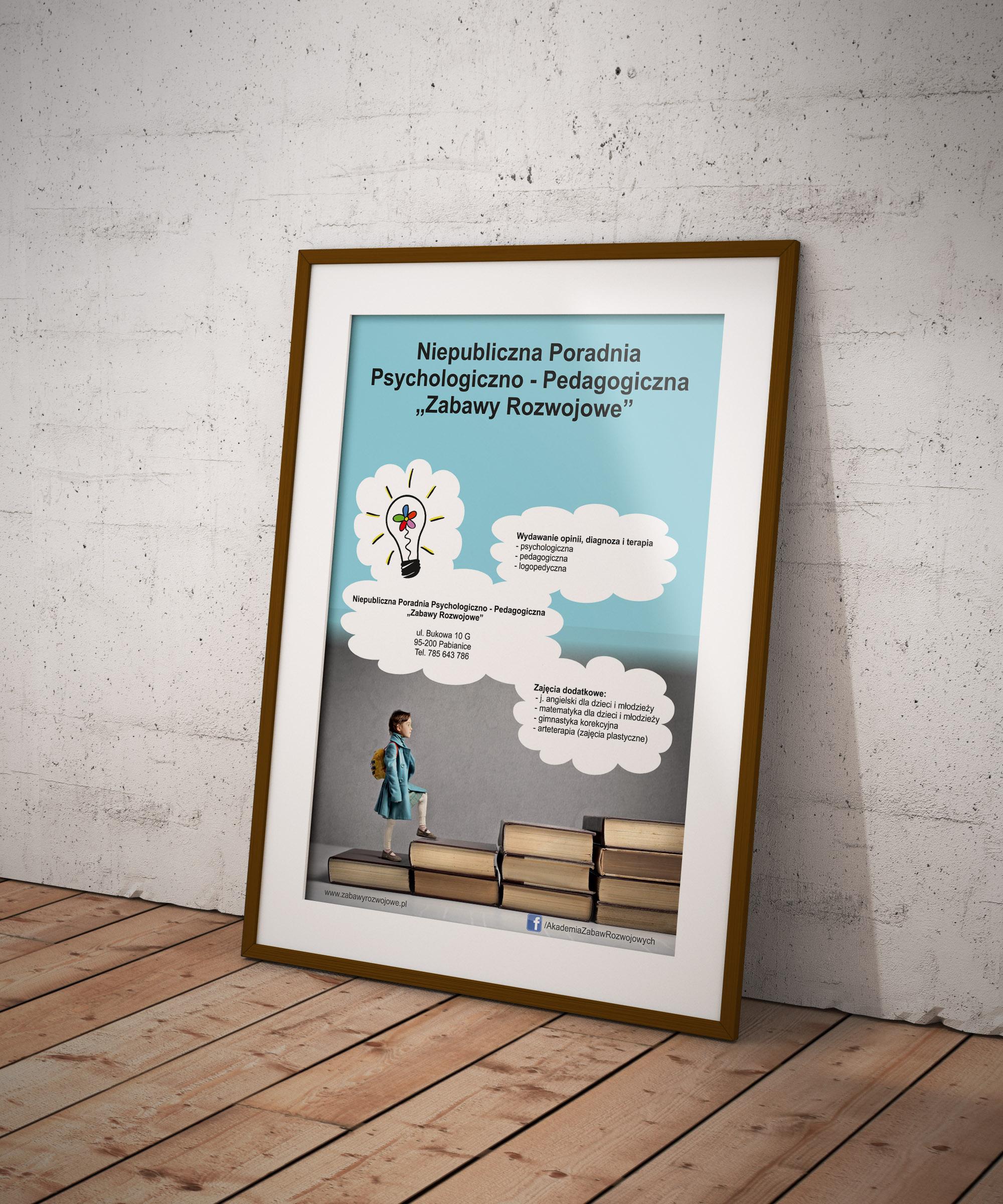 Akademia Zabaw Rozwojowych – plakat