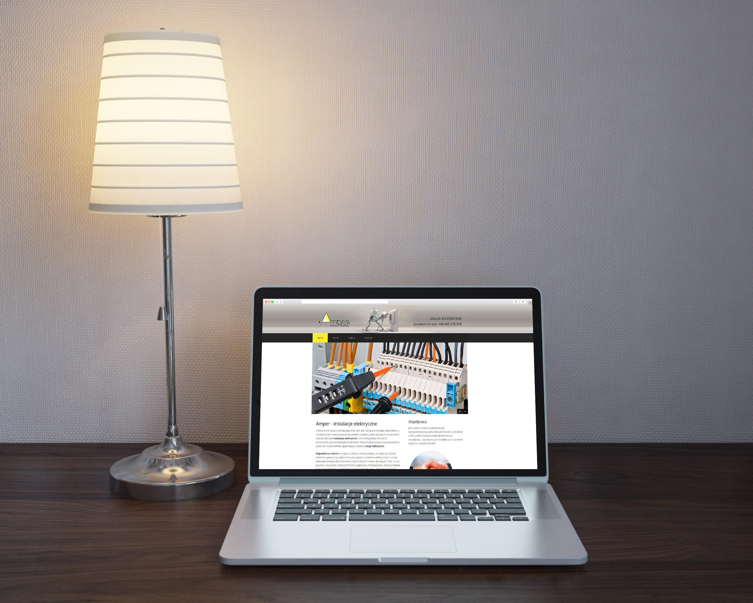 Instalatorstwo elektryczne – Strona internetowa