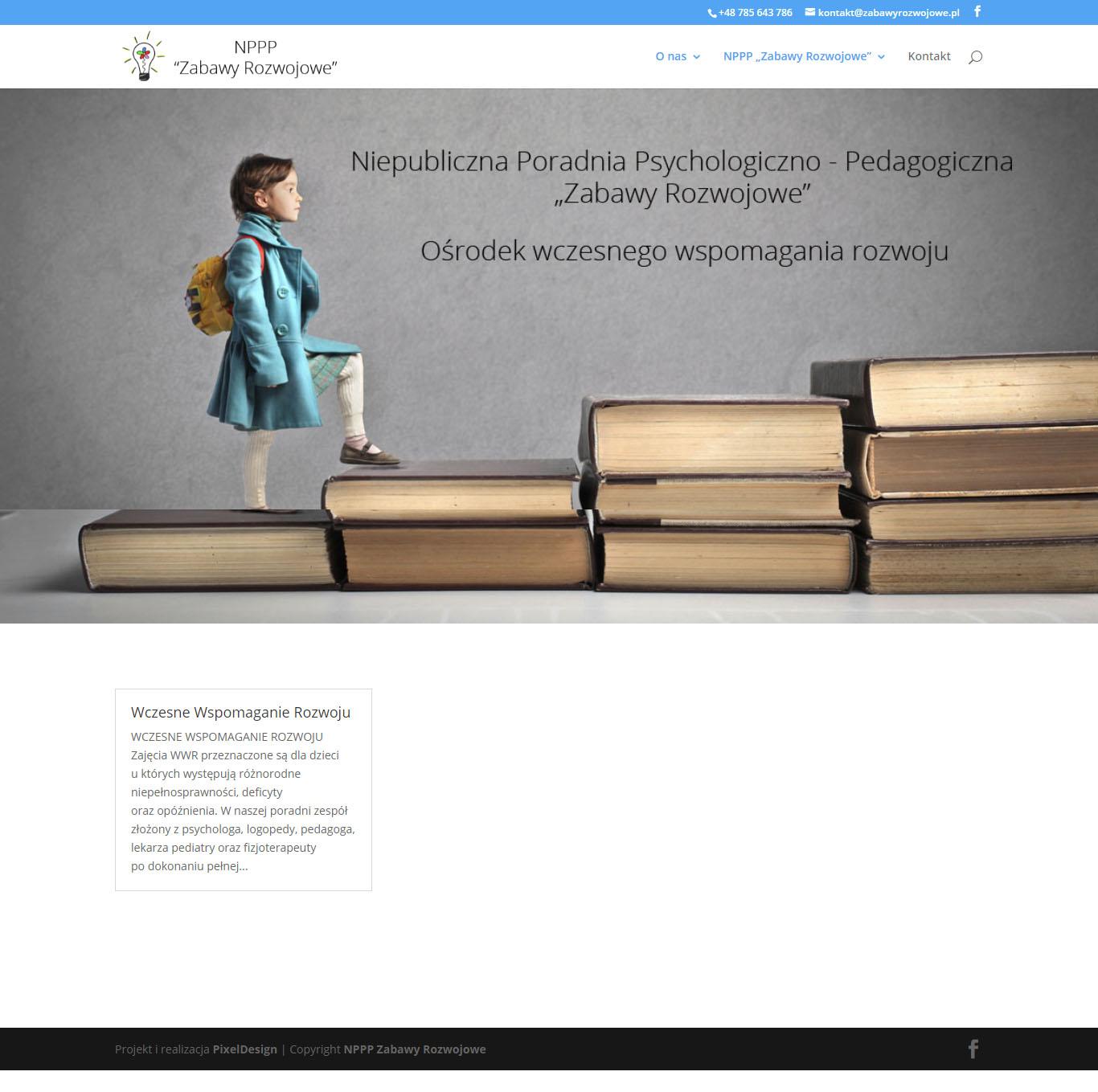 NPPP Zabawy Rozwojowe – strona internetowa