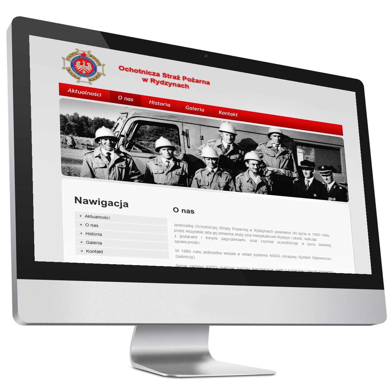 OSP Rydzyny – Strona internetowa