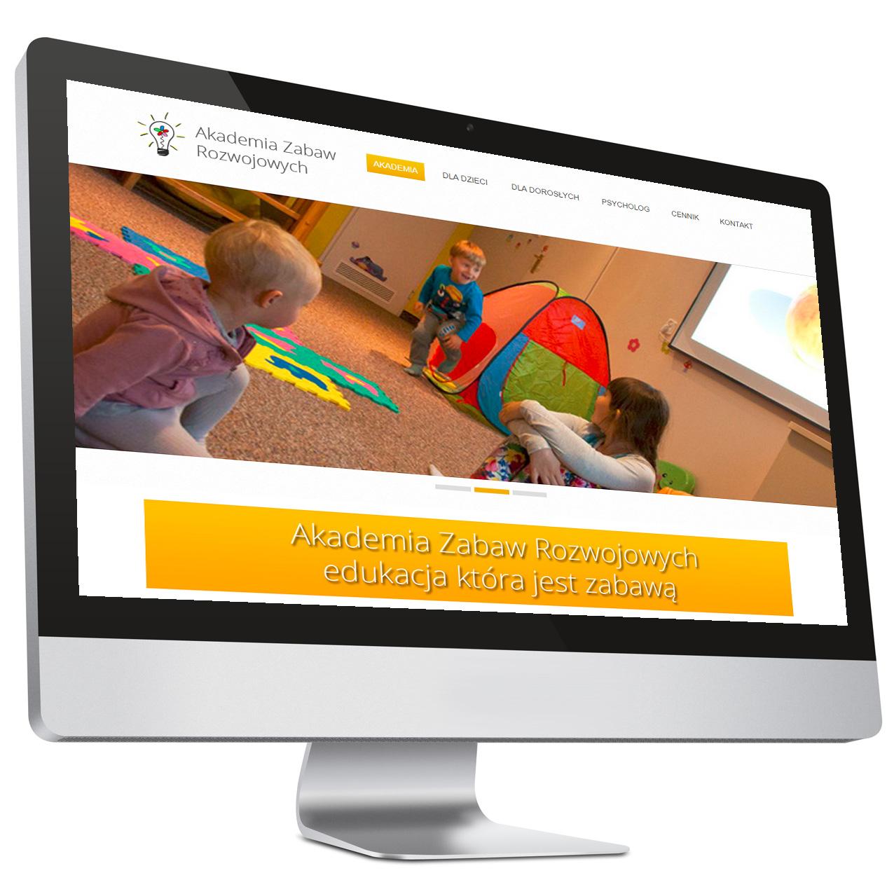 Akademia Zabaw Rozwojowych – Strona internetowa