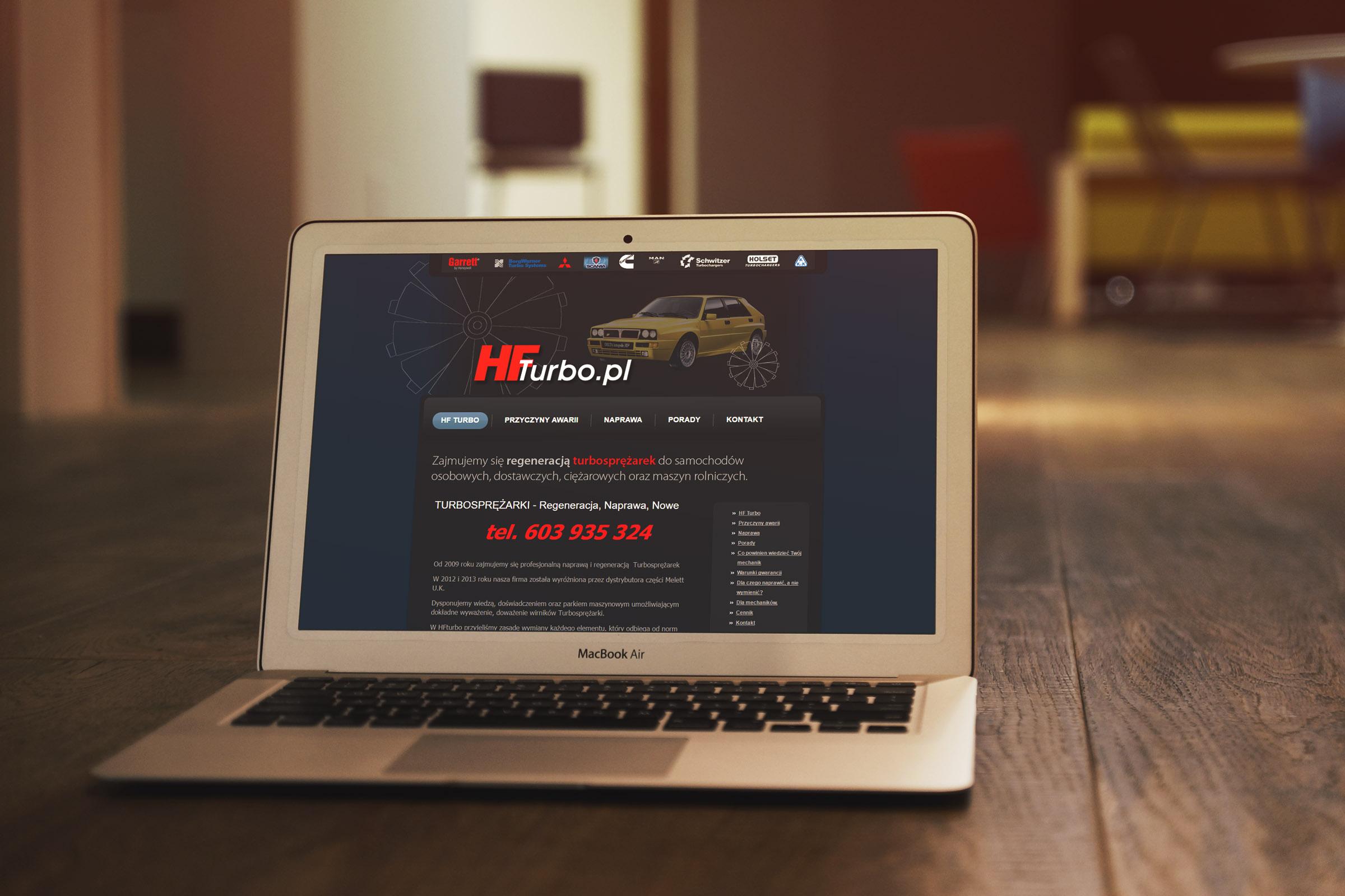 Regeneracja Turbosprężarek – Strona internetowa