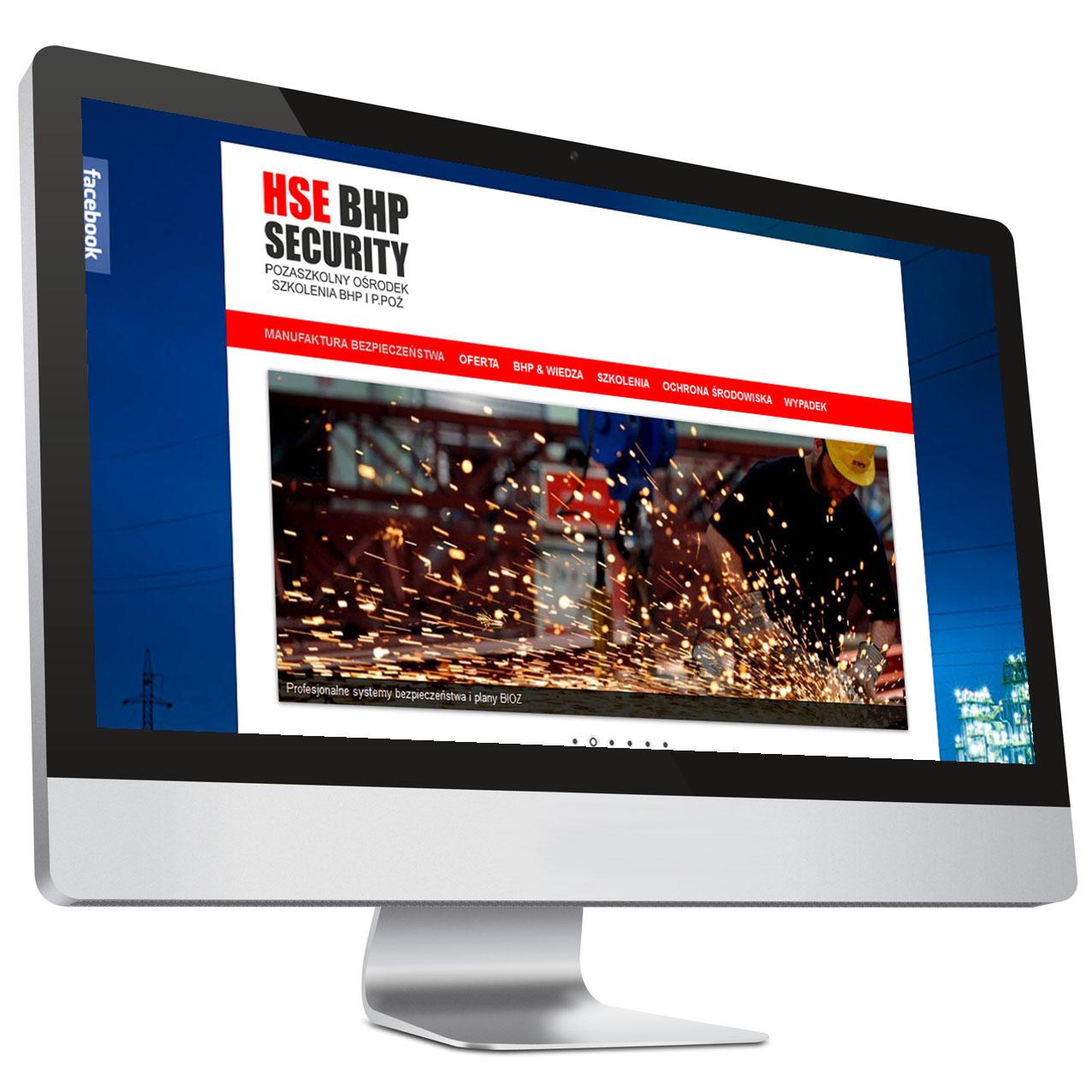 HSE BHP Płock – strona internetowa