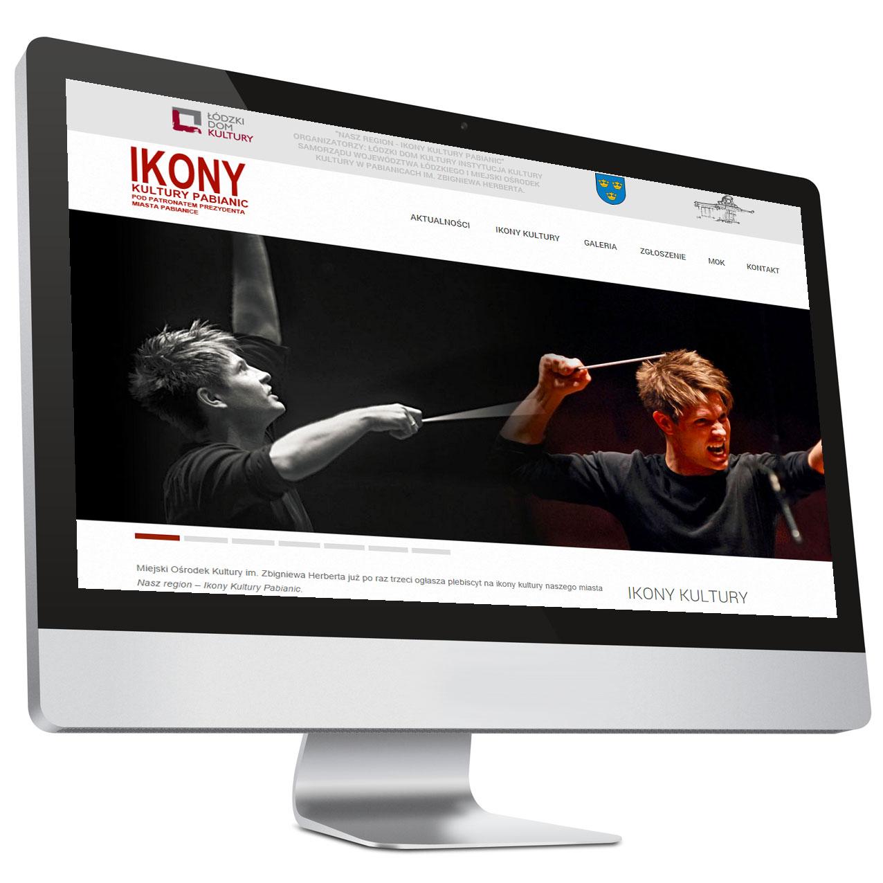 Ikony Kultury – Strona internetowa